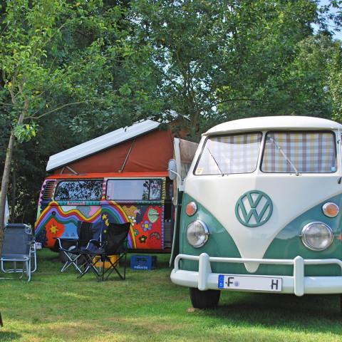 VW T1 im Schlosspark