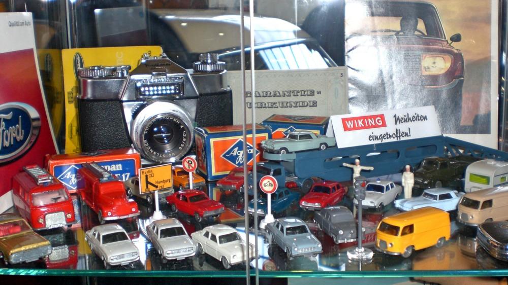 Vitrine Ford Modelle