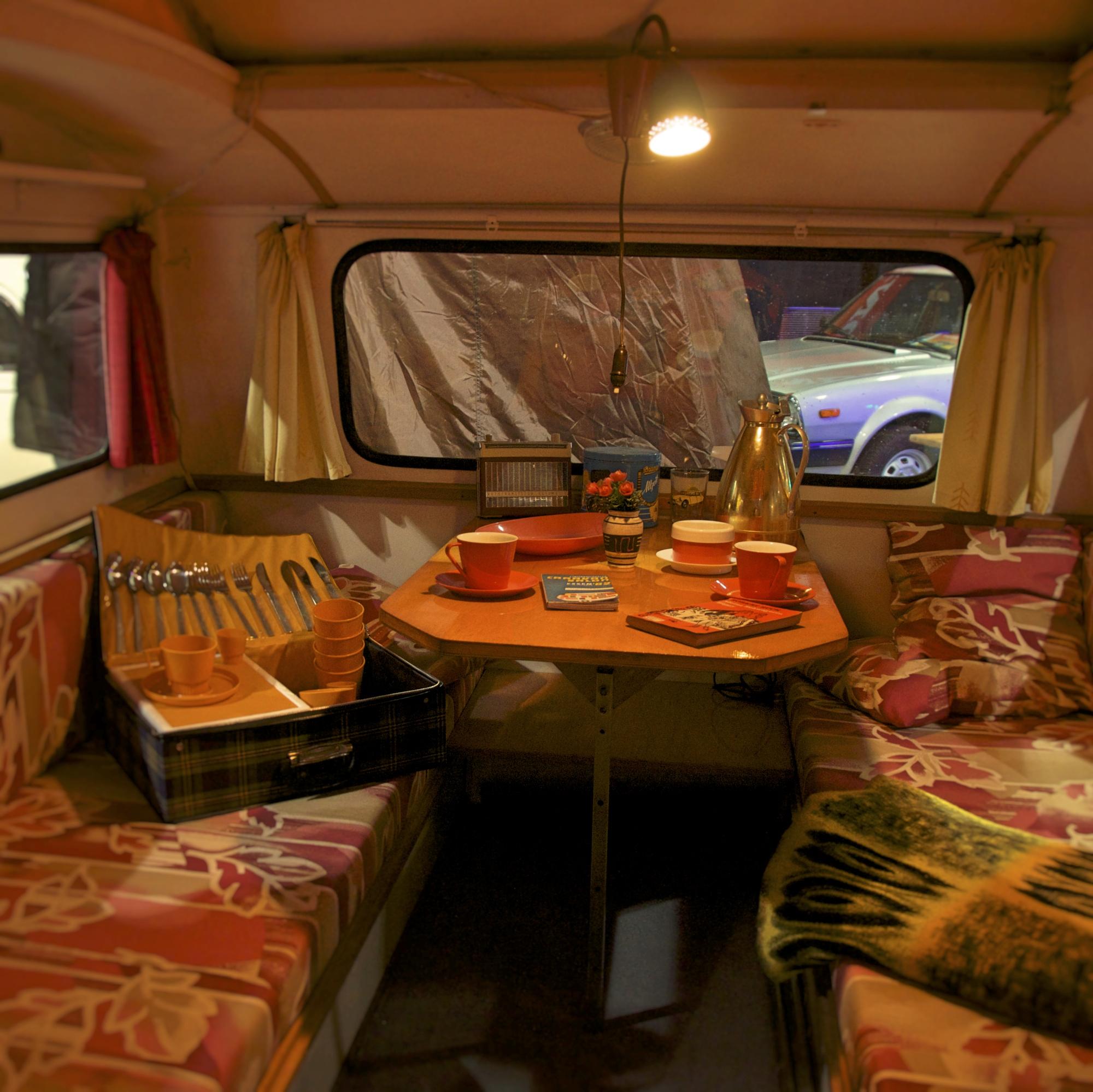 Wohnwagen Interieur
