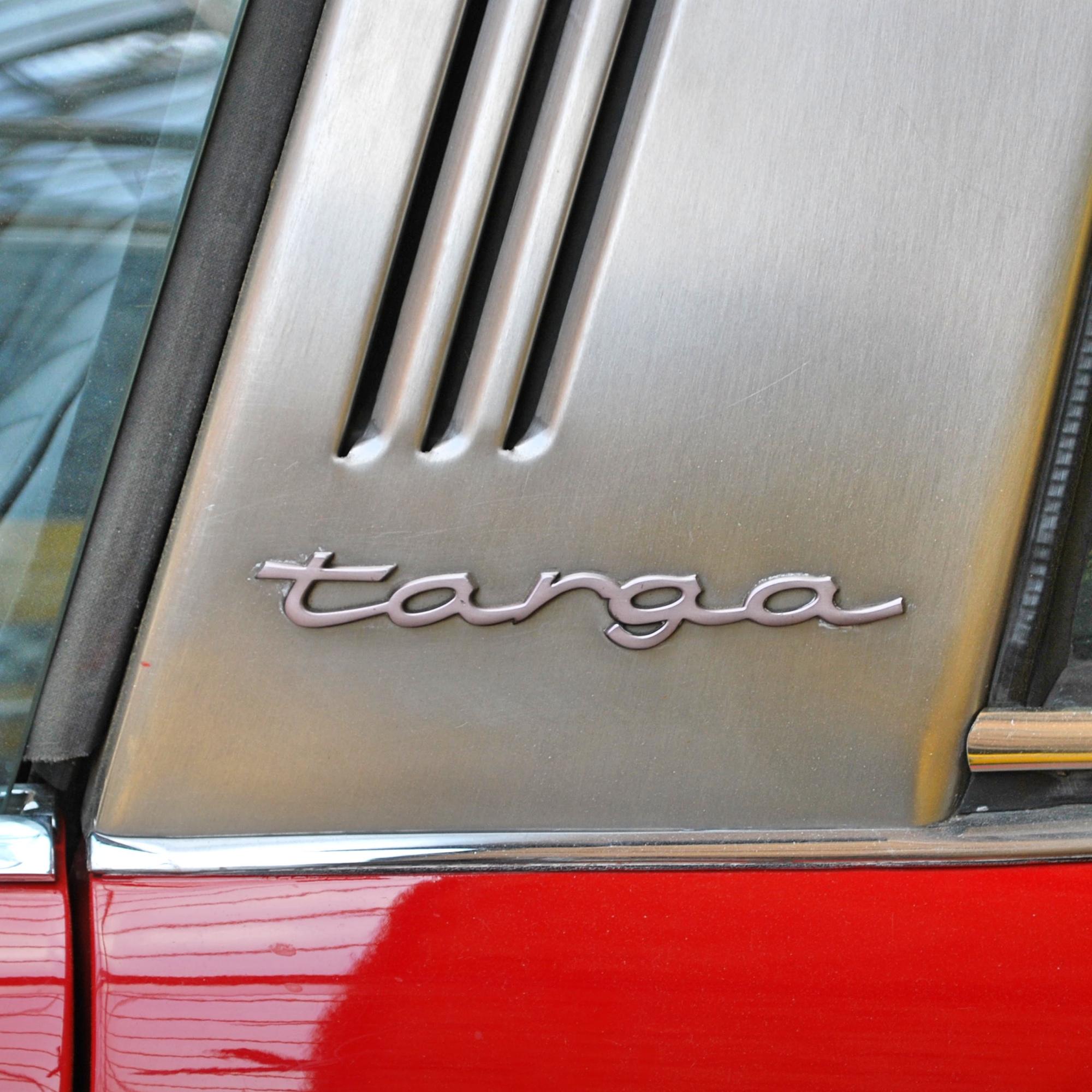 Porsche Targa Logo