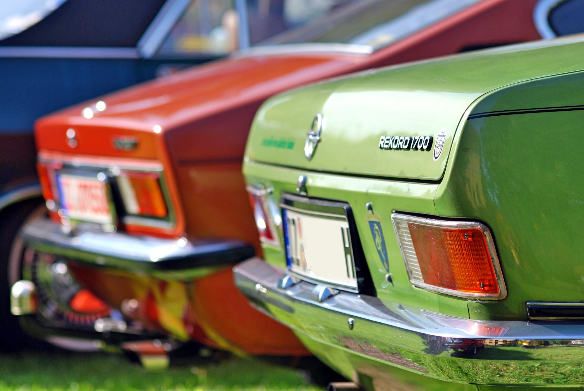Opel Kadett und Rekord