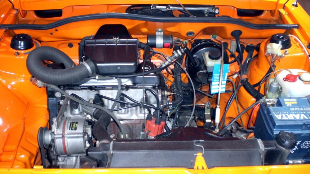 Volkswagen Scirocco Motorraum