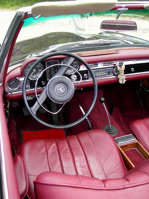 Mercedes Benz SL Interieur
