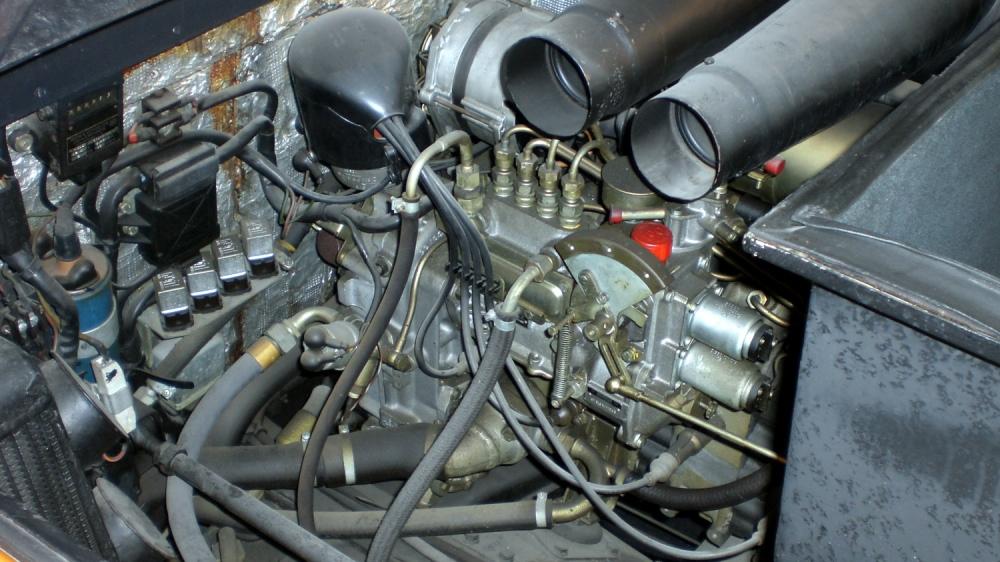 Mercedes Benz C111 Motor