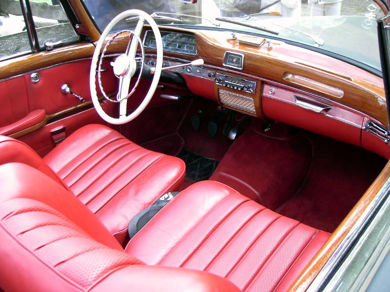 Innenraum Mercedes Benz