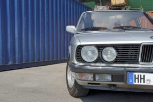 BMW 525i Front