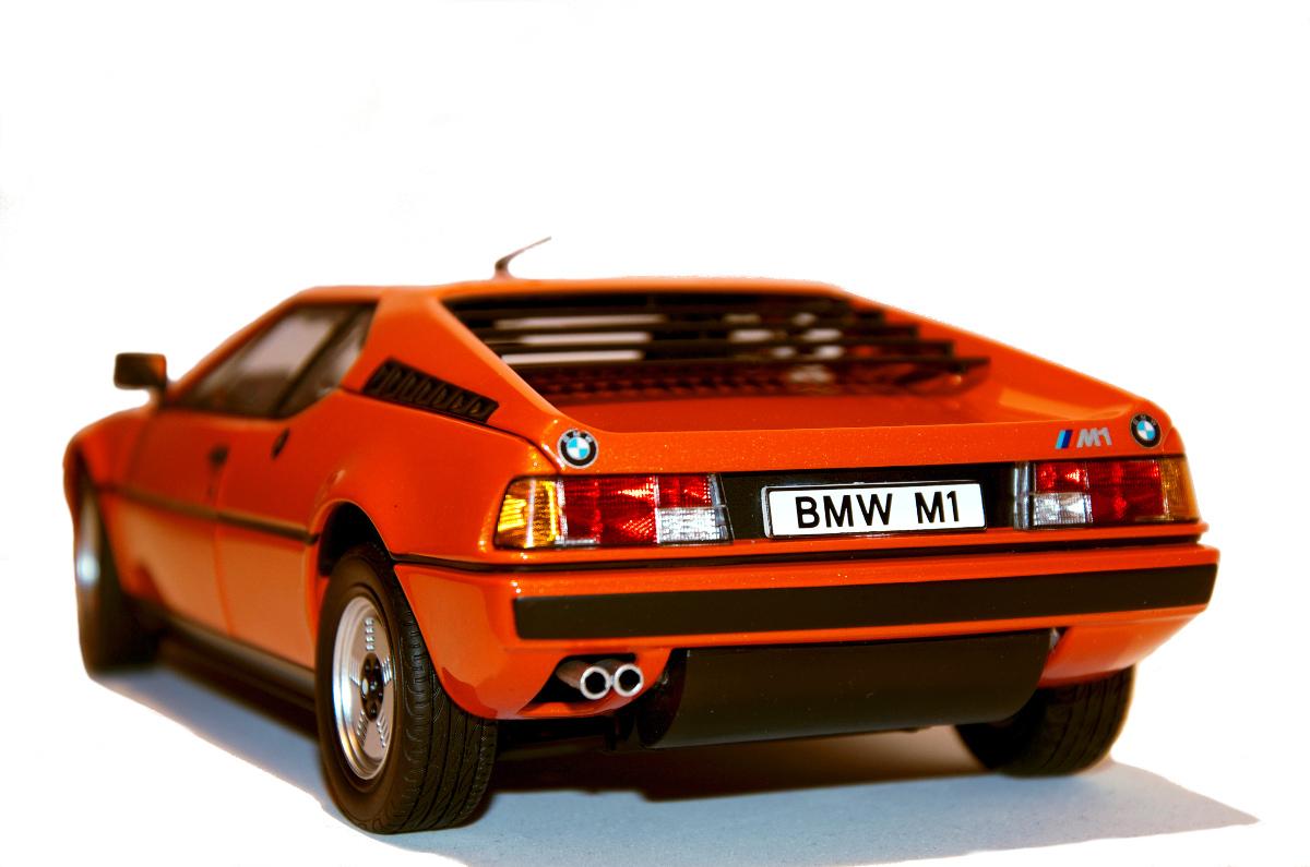 BMW M1 im Maßstab 1:18 von Minichamps