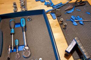 Werkzeugeinlagen selber machen