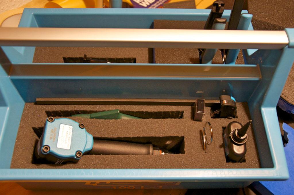 Hazet 190L-1 mit Druckluftwerkzeug