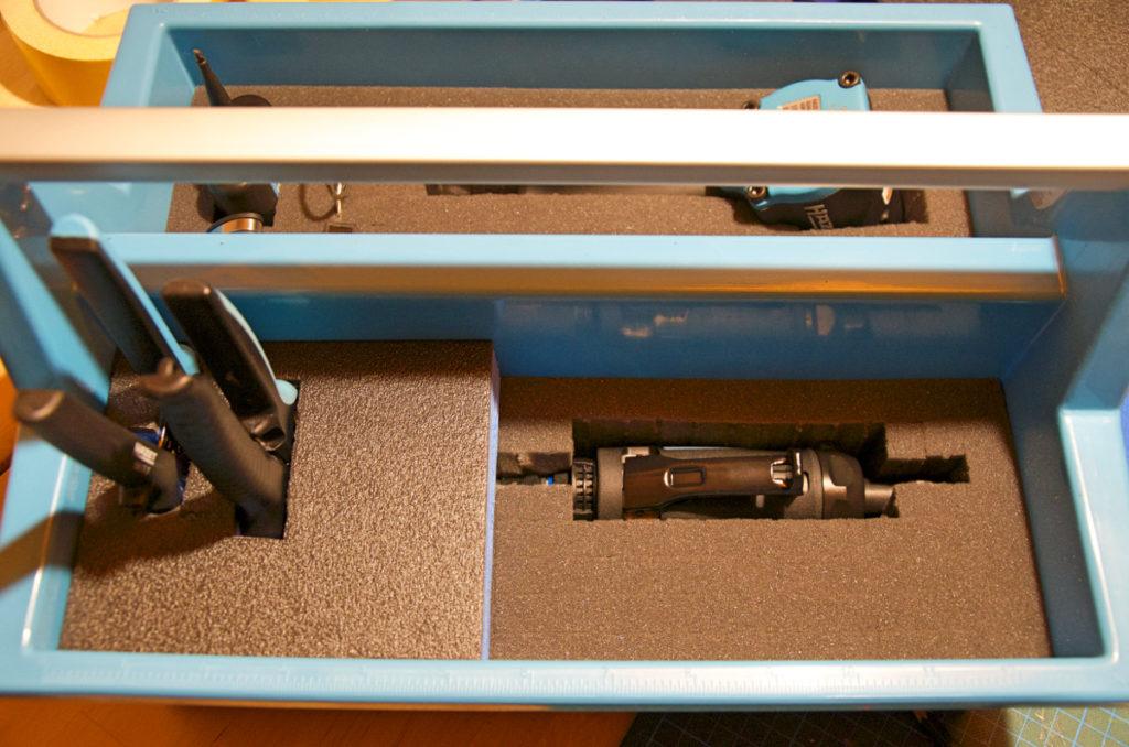 Hazet 190L-1 mit Druckluft Stabschleifer