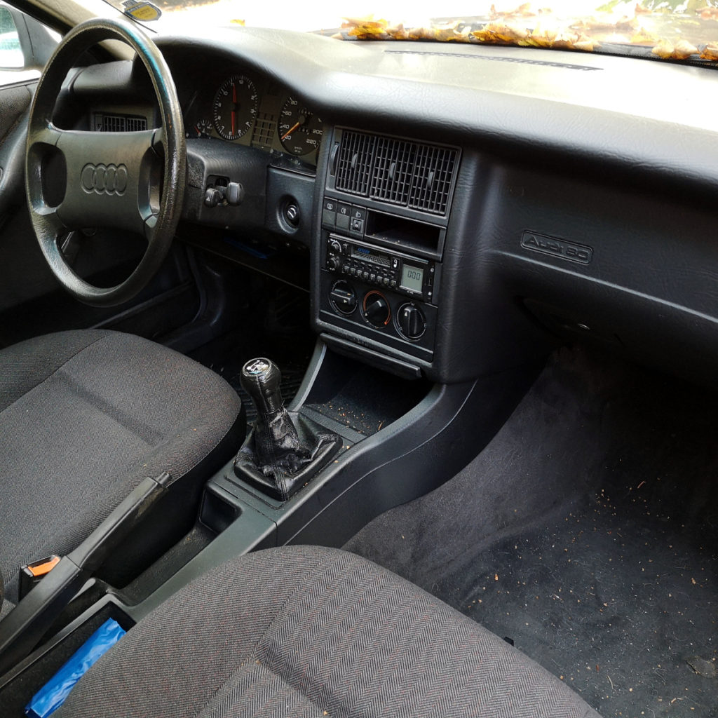 Innenraum Audi 80 B3 Typ 89