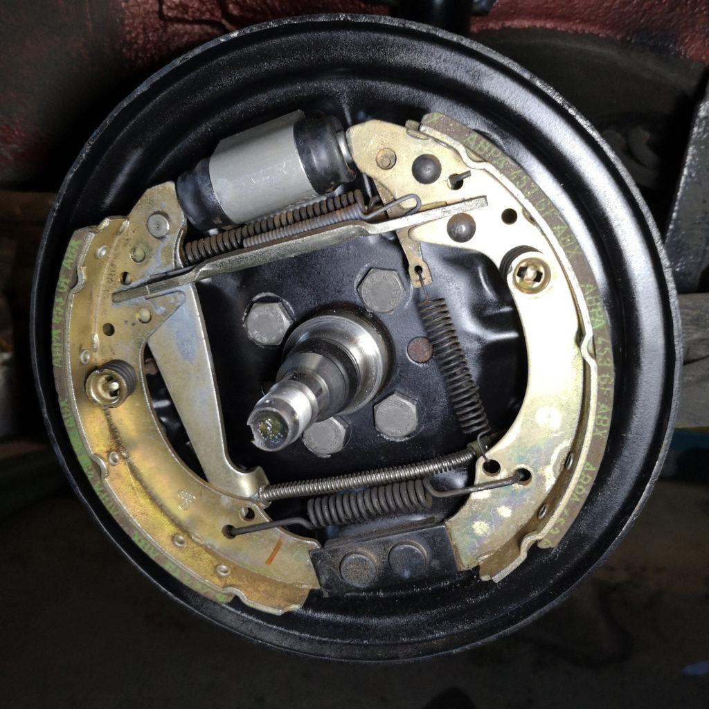 Bremstrommel Audi 80 B3