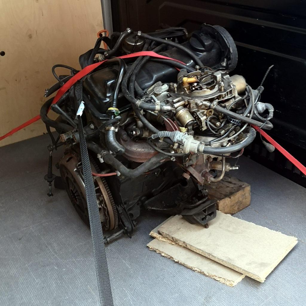Audi 80 B3 PP Motor